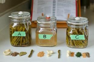 """Testing Asparagus, """"A, B, C"""""""